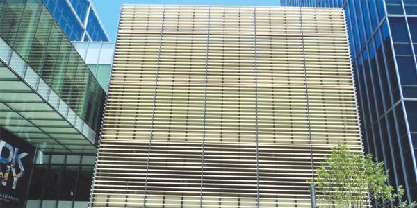 上海博开为无锡五洲广场提供遮阳板