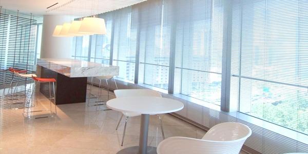 上海博开为携程总部提供办公遮阳帘