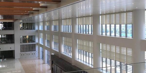合肥京东方医院遮阳窗帘项目