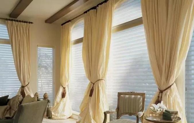 各种风格的客厅窗帘搭配