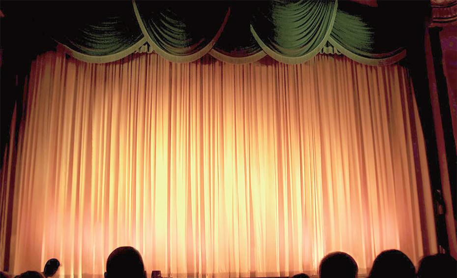 电动舞台升降幕展示