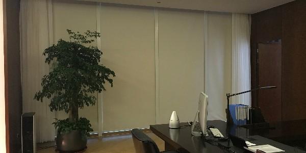 上海闵行区梅陇南方商务区遮阳窗帘项目