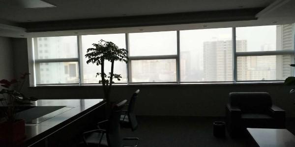 长沙恒丰银行遮阳窗帘项目