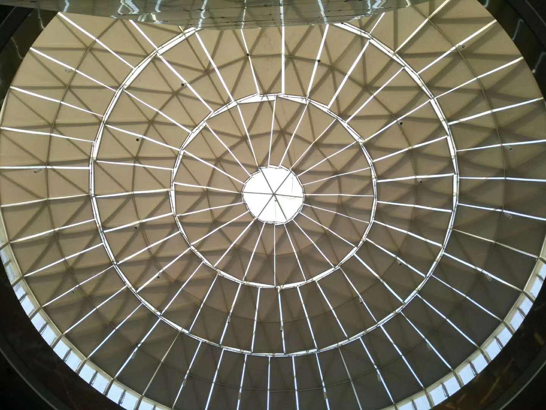 阜阳宝龙城市广场遮阳窗帘项目