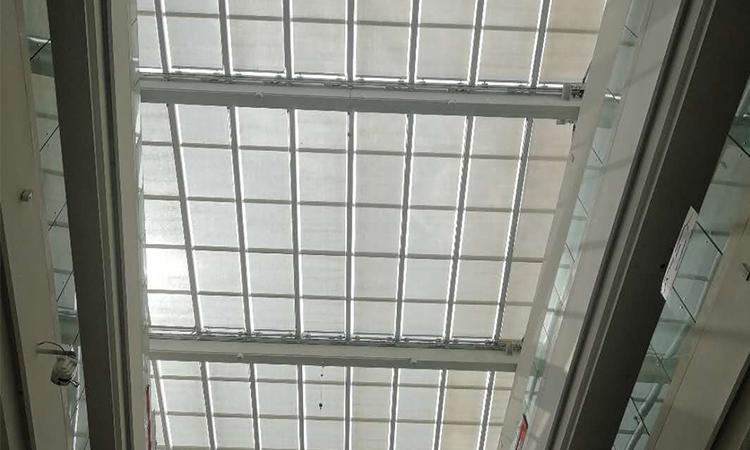 仪征宝能城市广场遮阳窗帘项目