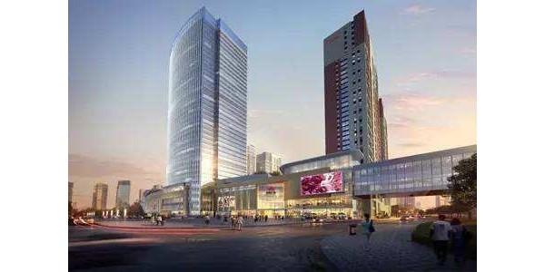 景枫中心办公楼遮阳窗帘项目