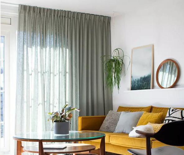 窗帘的用色与搭配