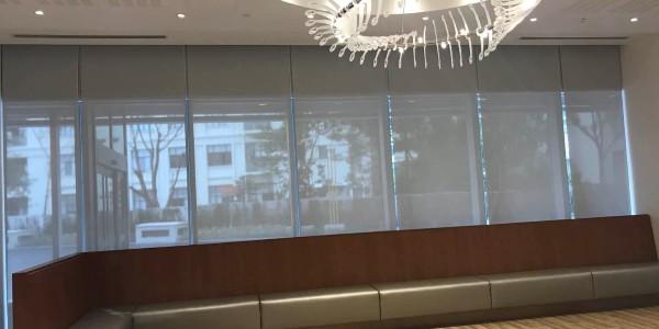上海国际嘉会医院遮阳窗帘项目