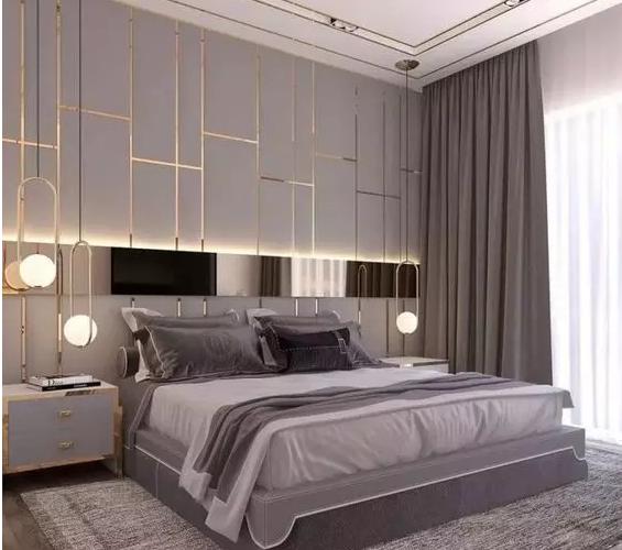 华丽端庄的高档欧式卧室窗帘搭配风格