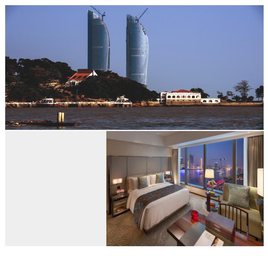 上海博开为康莱德酒店提供电动开合帘