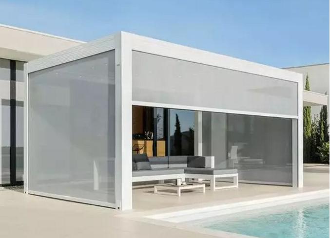 创新结构设计,户外遮阳发展的新方向